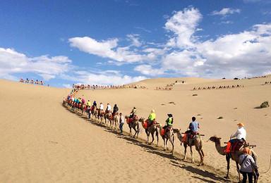 丝绸之路深度游 沙漠BBQ 青海湖骑单车(10日行程)