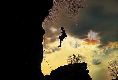 周末探洞攀岩露营活动零基础人群都可参加(2日行程)