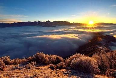 达瓦更扎 云上的世界 云海的天堂(2日行程)