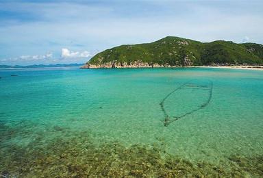 大洲岛 海南 无人海岛露营 潜水 探险明代古沉船 珊瑚 火山(5日行程)