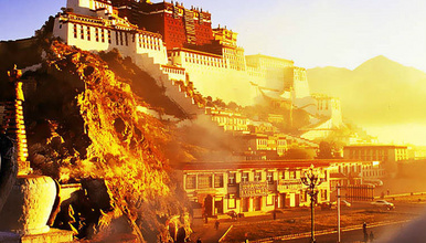 西藏旅游拉萨布达拉宫大昭寺 文成公主演出自行发团品质纯玩(1日行程)