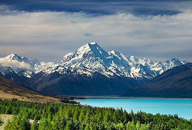 魔戒的召唤 户外天堂新西兰的纯净之旅 夏天来南半球滑雪吧(10日行程)