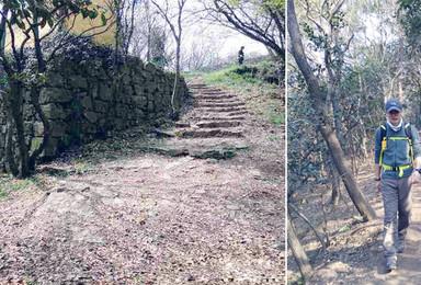 虐途户外徒步穿越军嶂古道丛林 初级户外线路(1日行程)