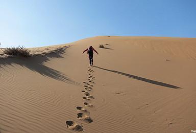 行 者 无 疆 驼 行 追 影 腾格里沙漠自虐徒步无人区(4日行程)