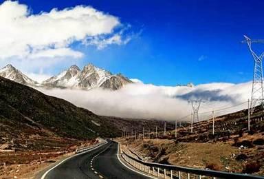 返走川藏线318国道极致诱惑自驾之旅 拉萨到成都(5日行程)