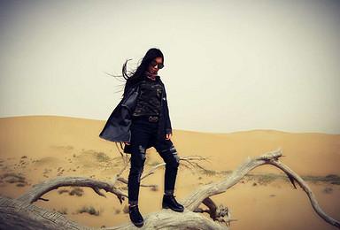 用脚步丈量沙漠 两天一夜骆驼 徒步 露营套餐(2日行程)