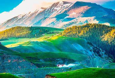 17年南北疆深度大环线 喀纳斯赛里木湖库木塔格(13日行程)