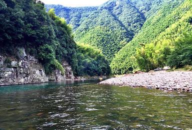 江南第一漂 泾县月亮湾漂流(2日行程)