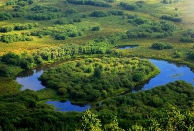 海拉尔 室韦 二卡跨国湿地 白桦林 狼岛 满洲里(5日行程)