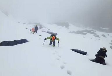 四姑娘山 三峰攀登 尝试第一次雪山技术攀登(3日行程)