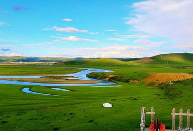 徒步 九曲黄河环线 红原若尔盖 花湖(3日行程)