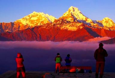 尼泊尔之行 博卡拉徒步布恩山小环线 一起玩滑翔伞吧(9日行程)