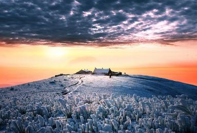 不远千里再登武功山 只为遇见最美的你 徒步万亩高山草甸(3日行程)