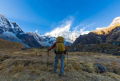 尼泊尔 鱼尾峰 安娜普尔纳大本营ABC 喜马拉雅徒步(11日行程)