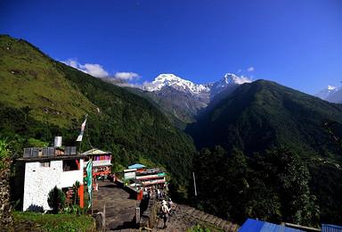 行走在喜马拉雅之巅 ABC徒步之旅 含机票(13日行程)
