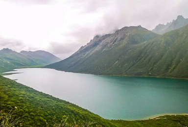 年保玉则徒步穿越 仙女湖 妖女湖 上下日干措(5日行程)