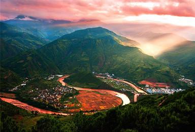 滇西边境 大理古城 诺邓古村 腾冲 和顺 瑞丽 芒市 双廊(8日行程)