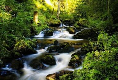 溯溪戏水四明山深处 探索最隐秘的峡谷瀑布群(1日行程)