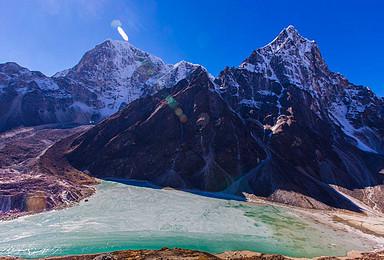 尼泊尔珠峰南坡大本营EBC 世界顶级路线EBC徒步 岛峰攀登(17日行程)