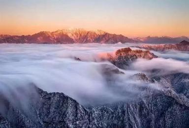 红岩顶 最轻松 最最壮观的日出 星空 云海观赏地(2日行程)