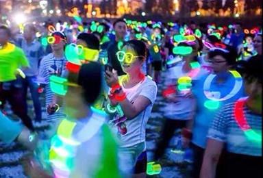 闪亮奥森  橘子部落 第21期  北京奥林匹克公园荧光夜跑(1日行程)