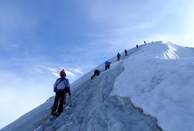 2017年 半脊峰攀登计划(6日行程)