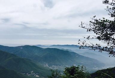 莫干山 定向徒步穿越回明国(2日行程)