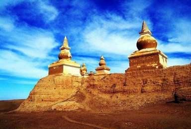 B线嘉峪关 额济纳 黑水城 怪树林 居延海 巴丹吉林沙漠(5日行程)