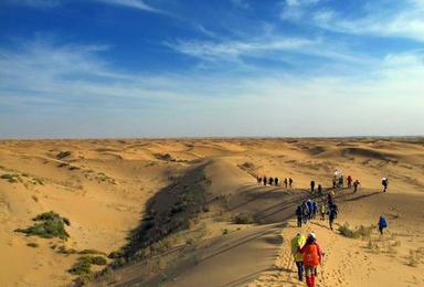 国庆4天 库布齐沙漠 红石峡 波浪谷 壶口瀑布无夜车(4日行程)