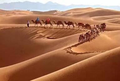腾格里沙漠五湖连穿 一生必走的地方(5日行程)