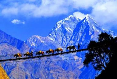 著名画家和您有缘行动高山王国尼泊尔异域圣地之旅(20日行程)