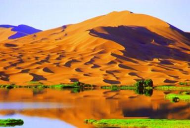 轻装穿越中国最大沙漠阿拉善沙漠(7日行程)