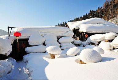 亚布力滑雪 雪乡穿越 长白山 朝鲜民俗村 雾凇岛(7日行程)