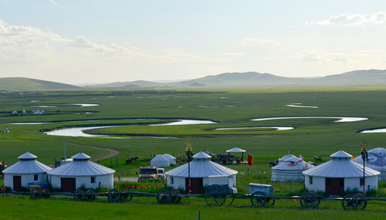 呼伦贝尔全线 最北漠河邂逅北极光 纵穿大兴安岭天堂草原(8日行程)