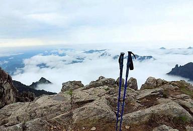 空心虐线团 一日穿越浙西之巅 挑战清凉主峰南山脊线(3日行程)