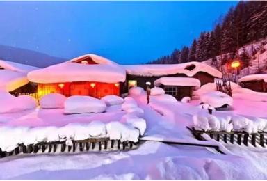 每周发团 哈尔滨 东升穿越 雪乡 长白山 吉林雾凇岛经典活动(7日行程)