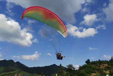 新奇滑翔伞 秋色绚烂 塔川 斜理 宏村 中国画里乡村(3日行程)