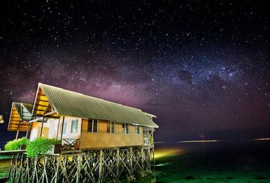 马来西亚 仙本那之马步岛 马达京 海洋公园精华游(6日行程)