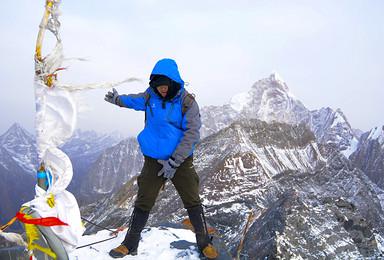 雪山攀登季 四姑娘山二峰 长穿毕(6日行程)