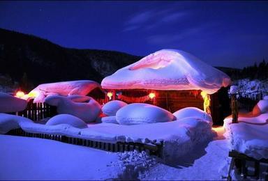 热门 东北雪乡 童话世界 林海雪原穿越雪乡 雪谷徒步穿越(4日行程)