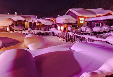 哈尔滨 中国雪谷 穿越羊草山 雪乡 哈尔滨(3日行程)