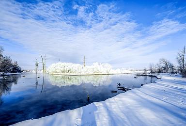元旦 查干湖上冬捕忙 雾凇岛上赏美景 醉美冬季(3日行程)