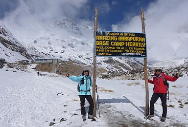 广州出发尼泊尔安娜普尔纳大本营ABC徒步 博卡拉一起玩滑翔伞(13日行程)