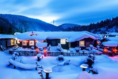 亲子 伏尔加庄园 亚布力滑雪 雪乡穿越 镜泊湖冬捕(6日行程)