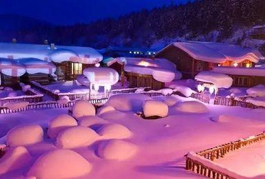 冰雪奇趣 走进冰天雪地 体味东北风情(7日行程)