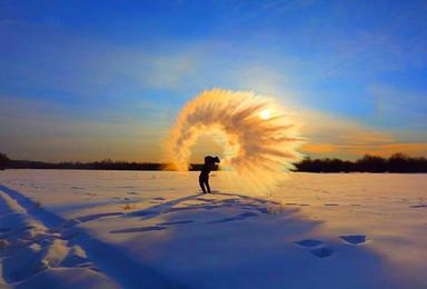 一路向北前往漠河最北 游北极村 北红村体验零下冻感极寒地带(4日行程)