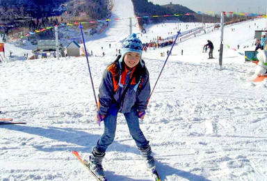 莲花山滑雪 北京最近雪场 全新雪具 新手免费教学(1日行程)