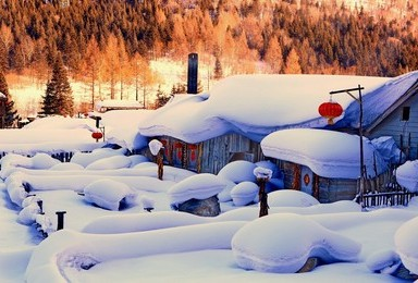 青春 主角光环 吉林雾凇 穿越林海雪原 雪乡雪谷 亚布力滑雪(4日行程)