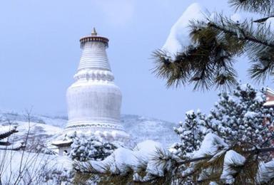 逃票穿越 佛教圣地 五台山 邂逅雪景 红白交错秒变人间仙境(3日行程)