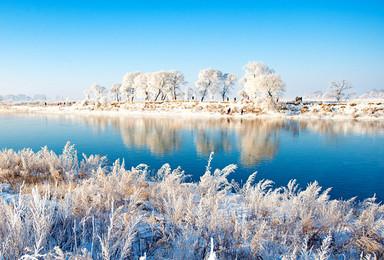 东北雪乡 老里克湖徒步 长白山 赏雾凇 滑雪 哈尔滨(8日行程)